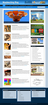 Woodworking Blog Self Updating Website With Clickbank Amazon Adsense And More