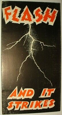 VINTAGE ADVERTISING BROCHURE GEORGE THOMPSON LIGHTNING ROD MFG MINN FLASH 1949