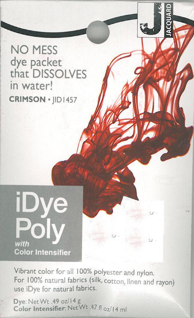IDye Poly  Crimson  457  zum Färben von Polyester und Nylon, Polyester Farbe