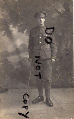 WW1 Soldier Royal Sussex Regiment 1x wounded Lewis Gunner ?