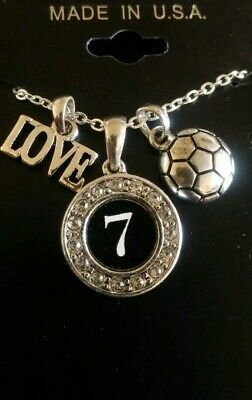 "LOVE SOCCER #7 18"" Necklace"