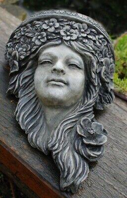 Art Nouveau Head sculpture