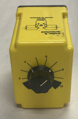 Potter Brumfield Cdb-38-70003 Time Delay Relay 120v 0.1-10sec