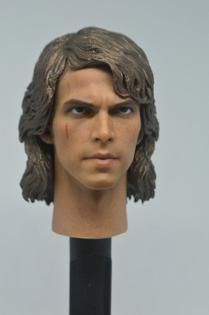 Art toys 1//6 Star Wars Anakin Skywalker headplay for Hot Toys body in stcok