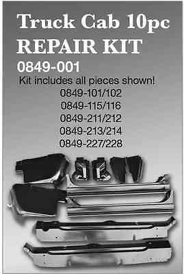 Truck Cab Repair Kit 67-72 Chevy/GMC Pickup (Key Parts #0849-001)