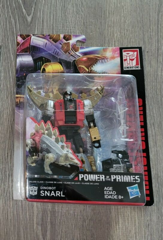 Transformers Generations Power of the Primes Deluxe  Dinobot SNARL