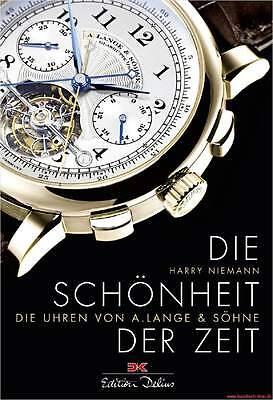 Fachbuch Uhren von A. Lange & Söhne, Historie des Unternehmens, BILLIGER, NEU