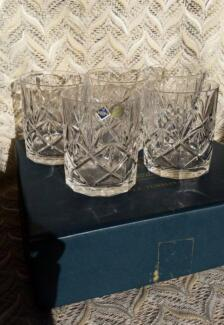 Bohemia Crystal Tumblers + Bonus Newstead Launceston Area Preview