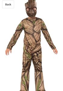 Groot costume large youth boy girl mint condition