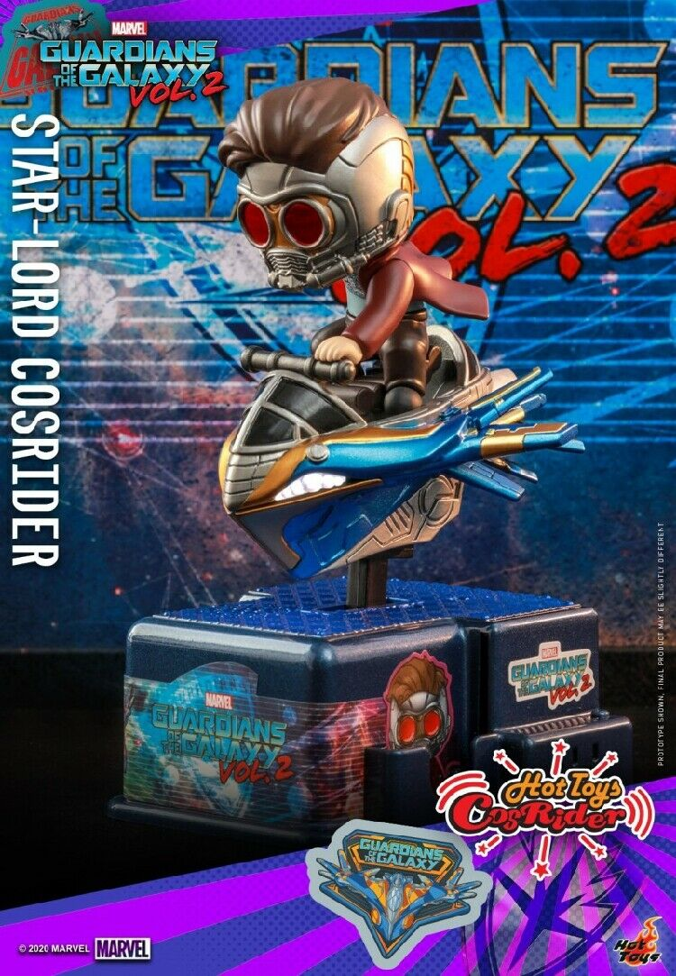 Hot Toys CSRD008 Star-Lord CosRider Cradle Guardians of the