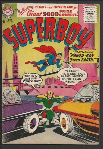 1956 DC Superboy #52 VG+