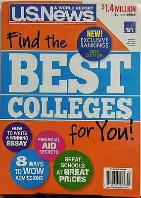 Us News   World Report Best Colleges 2017 Exclusive Rankings Free Shipping Sb