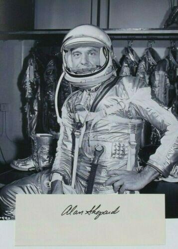 Alan Shepard Apollo 14 Commander Signed Autograph Moonwalker Mercury Astronaut
