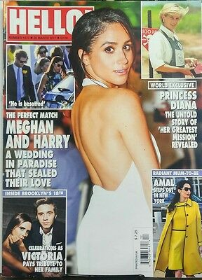 Hello 20 March 2017 Perfect Match Meghan Markle   Prince Harry Free Shipping Sb