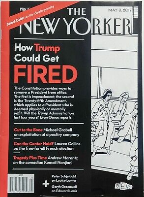 The New Yorker May 8 2017 How Donald Trump Could Get Fired  FREE SHIPPING sb