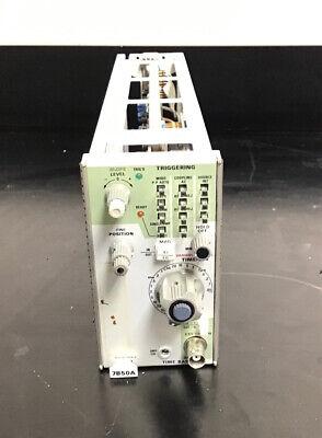 Tektronix 7b50a Time Base Plug-in