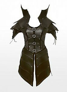 Real-leather-medieval-re-enactment-theatrical-celtic-Armor-LARP-SCA-viking