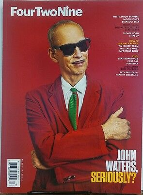 Four Two Nine Issue 9 John Waters Seriously Trevor Noah Step Up Free Shipping Sb
