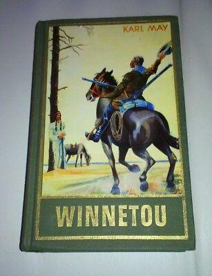 "Karl May Verlag Bamberg - Band 8 ""WINNETOU ll ""1951 2581.Tausend"