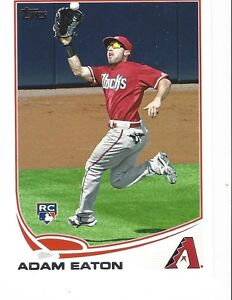 2013 Topps Series 1 Baseball #79 Adam Eaton Diamondbacks RC