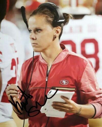 Katie Sowers San Francisco 49ers Signed 8x10 Autographed Photo Reprint