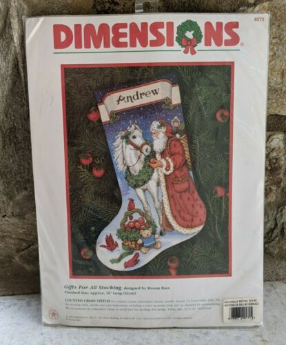 Dimensions Santa Gifts for All Horse Christmas Cross Stitch