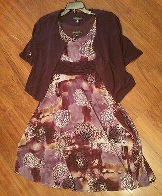 R&m Richards Petite Women's Two-piece Dress Suit Size 6 (Two Piece Dress Suit)