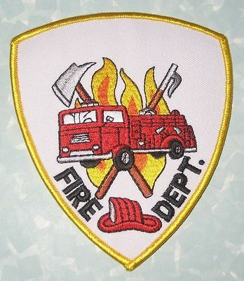 Fire Dept Patch - 4 1/4
