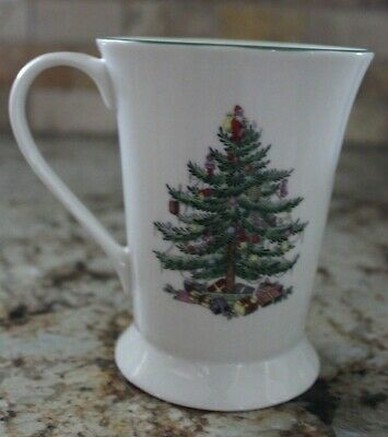 Spode - Christmas Tree - Ceramic Latte/Hot Chocolate/Coffee Mug - 4.5