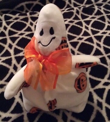 Ty Beanie Baby Ghoulish The 2006 Halloween Ghost VINTAGE Tush Tag / No Hang Tag](Beanie Baby Tag Halloween)