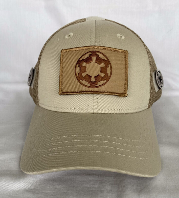 Star Wars Imperial Tactical Military Army Grand Moff Tarkin Ball Cap Hat Patches
