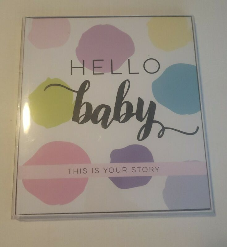 Sticky Bellies Baby Memory Book, Keepsakes, Pregnancy, Baby Arrival, 52 pages