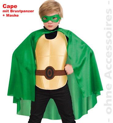 Superheld Kostüm Kinder Grün Held Ninja Turtle - Grünes Ninja Kostüm