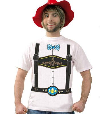 Herrenkostüm-Set Oktoberfest T-Shirt und Seppelhut - Herr Oktoberfest Kostüm