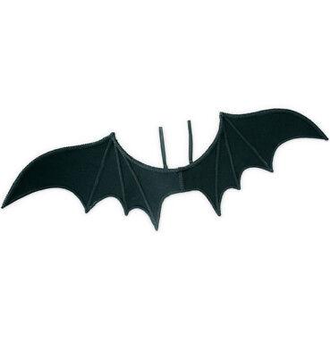 Fledermausflügel in Schwarz für Erwachsene Schwinge Halloween Zubehör 125795813F