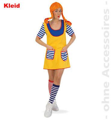 Freche Goere Kostüm Wildfang Damenkostüm starkes Mädchen - Freche Mädchen Kostüm