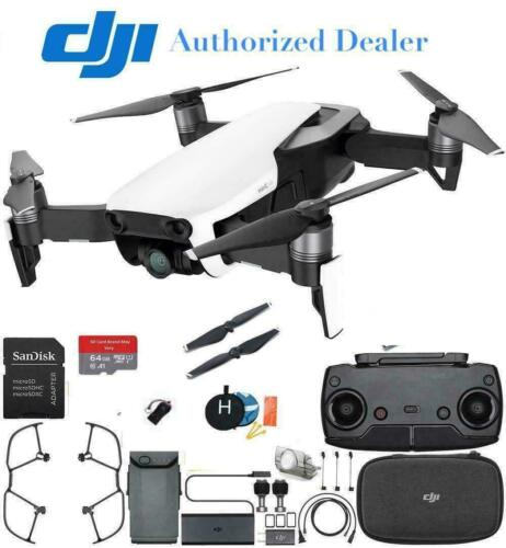 DJI Mavic Air Drone Quadcopter (Arctic White) Starters Bundle