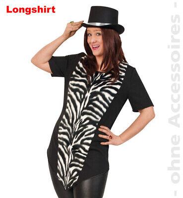 Zebra Damenkostüm Zebrakostüm Zirkusdirektor Variete Damen Kostüm