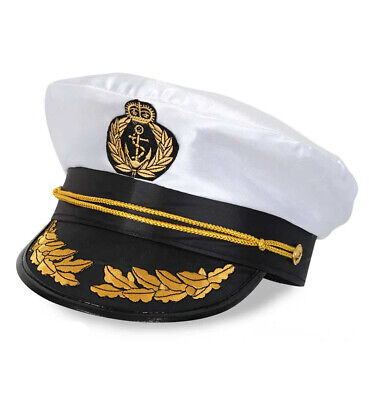 Mütze Kapitän de Luxe Matrose Seemann Schiffsführer Marine Schiffer 123884413F