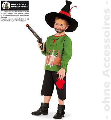 Hotzenplotz Kostüm Kinder Bandit Räuber wilder Mann (Wilder Mann Kostüm)