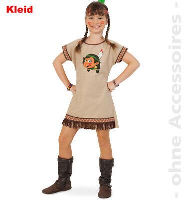 Indianerin Kostüm Kinder Indianerkostüm Squaw Indianer Mädchen Kinderkostüm