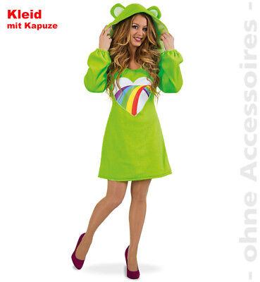 Bärchen Kostüm Damen Glückbärchen Regenbogen - Bärchen Kostüme