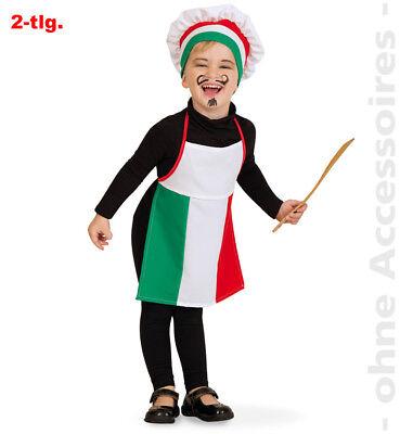 Pizza Bäcker Italien Kinder Pizzamann Pizzamann Kinderkostüm