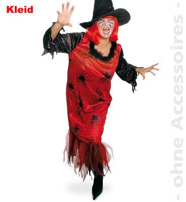 Spinnen Spiderlady Damen Kostüm Spider Hexen Halloween Damenkostüm