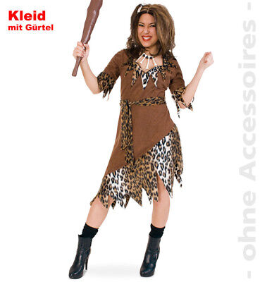 Steinzeitkostüm Urmensch Kostüm Damen Steinzeit starke Frau Damenkostüm