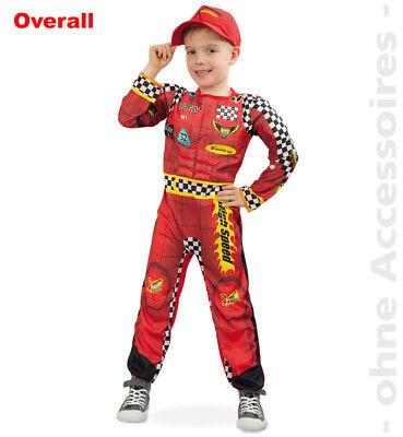 Rennfahrer Kostüm Formel Eins Kinder Auto Pilot Kinderkostüm (Rennfahrer Kostüm Kinder)