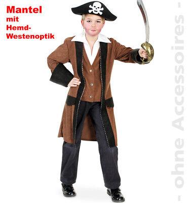 Pirat Kostüm Kinder Piratenkönig Seeräuber Kapitän - Kind Piraten König Kostüm