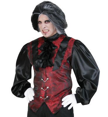 KarnevalsTeufel Damian 2. Wahl Hemd edel in schwarz-rot Teufel Fasching 12276813