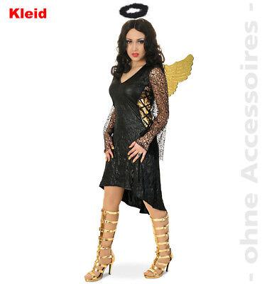Schwarzer Engel Damenkostüm Dark Angel Halloween gefallener Engel Damen Kostüm
