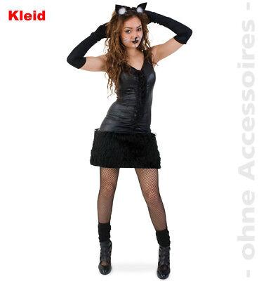 m Katzenkleid Damen Kämpferin Amazone Damenkostüm (Katze Kostüm Amazon)